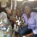 Toy donations in Makeny- Sierra Leonne