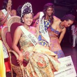 The Winner of Miss guinea North America 2014 sponsored with a $1,500.00 scholarship Money